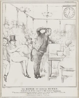The House Wot Keeps Bad Hours, by John ('HB') Doyle, published by  Thomas McLean - NPG D41077