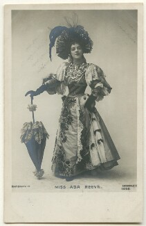 Ada Reeve as Julie Bon Bon in 'The Gay Parisienne', published by Rapid Photo Co - NPG Ax160333