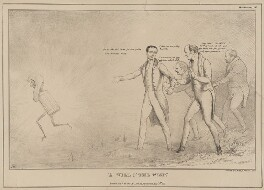 'A Will O'The Wisp.', by John ('HB') Doyle, printed by  Charles Etienne Pierre Motte, published by  Thomas McLean, published 22 August 1831 - NPG D41085 - © National Portrait Gallery, London
