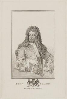 John Somers, Baron Somers, by Robert Cooper - NPG D41809
