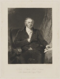 John Somers Cocks, 1st Earl Somers, by William Giller, after  Frederick Richard Say - NPG D41810