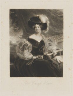 Jane Cocks (née Waddington), Countess Somers, by William Giller, after  Frederick Richard Say - NPG D41811