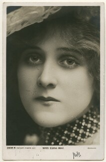 Edna May (Edna Pettie), published by Rotary Photographic Co Ltd - NPG Ax160336