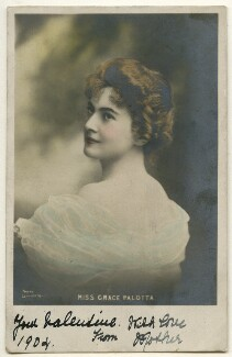 Grace Palotta, by Lafayette, published by  Charles William Faulkner & Co ('C.W.F. & Co') - NPG Ax160338