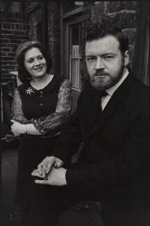 Ian Campbell; Lorna Campbell, by Brian Shuel - NPG x134914