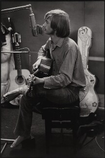 Michael ('Mike') Oldfield, by Brian Shuel, 1973 - NPG  - © Brian Shuel / National Portrait Gallery, London