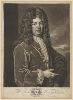 Abraham Stanyan, by John Faber Jr, after  Sir Godfrey Kneller, Bt - NPG D41879