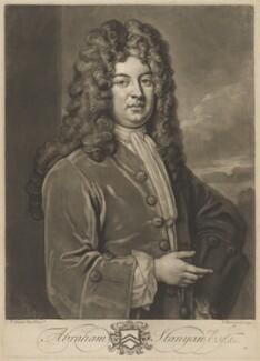 Abraham Stanyan, by John Faber Jr, after  Sir Godfrey Kneller, Bt - NPG D41880