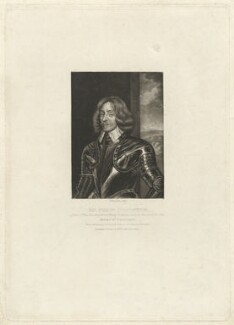 Sir Philip Stapleton, by Robert Dunkarton, published by  Samuel Woodburn, after  John Bulfinch - NPG D41882