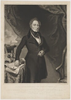 Sir George Thomas Staunton, 2nd Bt, by William Overend Geller, printed by  S.H. Hawkins, published by  J. Moore, published by  Ackermann & Co, published by and after  George Swendale - NPG D41883
