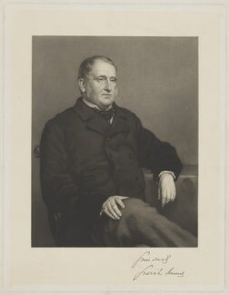 Lord Granville Somerset, by Charles Algernon Tomkins, after  Cyrus Johnson, mid 19th century - NPG D41822 - © National Portrait Gallery, London