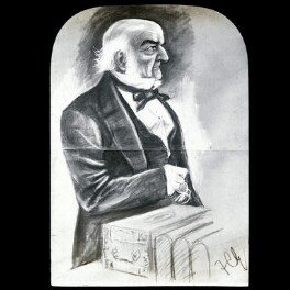 William Ewart Gladstone, after Sir Francis Carruthers Gould ('F.C.G.') - NPG D41924
