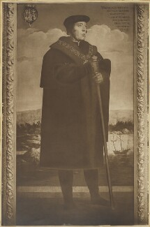 William FitzWilliam, Earl of Southampton, by John Palmer Clarke, after  Hans Holbein the Younger - NPG D41831