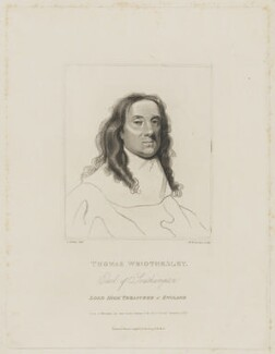 Thomas Wriothesley, 4th Earl of Southampton, by William Nelson Gardiner, published by  Edward Harding, after  Silvester Harding, after  Samuel Cooper, published 1 March 1797 - NPG D41835 - © National Portrait Gallery, London