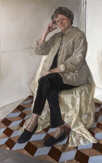 Maggie Smith, by James Lloyd, 2012 - NPG  - © National Portrait Gallery, London