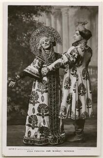 Anna Pavlova and Michael Mordkin performing the Russian Dance, by Foulsham & Banfield, published by  Rotary Photographic Co Ltd - NPG Ax160387