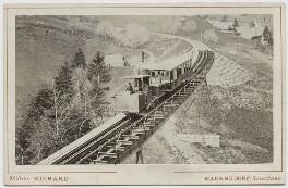View of the Rigi Bahn, by Atelier Richard - NPG Ax46181