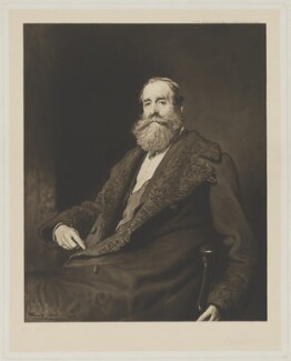 John Poyntz Spencer, 5th Earl Spencer, by Gerald Philip Robinson, published by  Thomas Agnew & Sons Ltd, after  Frank Holl - NPG D42009