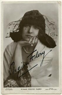 Regine Flory, by Rita Martin, published by  J. Beagles & Co - NPG Ax160412