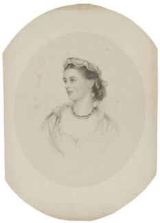 Charlotte Frances Frederica Spencer (née Seymour), Countess Spencer, by Francis Holl, after  James Rannie Swinton - NPG D42013