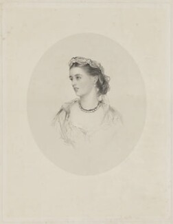 Charlotte Frances Frederica Spencer (née Seymour), Countess Spencer, by Francis Holl, after  James Rannie Swinton, mid 19th century - NPG D42014 - © National Portrait Gallery, London