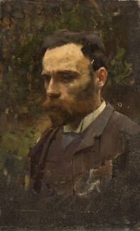 John William Waterhouse, by William Logsdail, circa 1887 -NPG 6920 - © Bridgeman Art Library www.bridgemanart.com