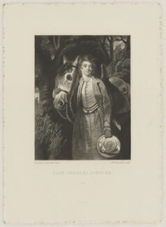 Lady Mary Spencer (née Beauclerk), by Samuel William Reynolds, published by  Henry Graves & Co, after  Sir Joshua Reynolds - NPG D42019