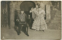 M. Volbert as Don José and Rosario Guerrero as Carmen in the ballet 'Carmen', published by Raphael Tuck & Sons - NPG Ax160424