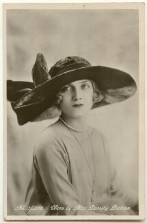 Dorothy Dickson, by Unknown photographer - NPG Ax160426
