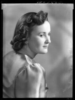 Molly Angela (née Cayzer), Lady Wyldbore-Smith, by Bassano Ltd - NPG x177398