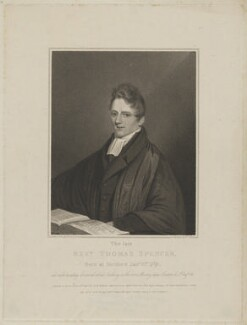 Thomas Spencer, by William Haines, published by  Williams, published by  Carter & Sons, published by  Thomas Conder, published by  Gores, Kaye, Reston & Taylor, published by and after  Edmund Scott - NPG D42037