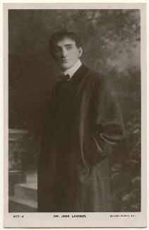 John Lawson, published by Rotary Photographic Co Ltd - NPG Ax160432