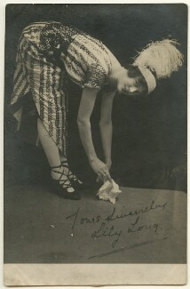 Lily Long, by Unknown photographer - NPG Ax160435