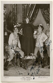 Reginald Kenneth; Marie Studholme (Marion Lupton) as Lady Madcap and George Edwards (né Harold Parks) in 'Lady Madcap', published by Rotary Photographic Co Ltd - NPG Ax160441