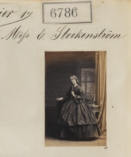 Ella Helena Stockenstrom, by Camille Silvy - NPG Ax56711