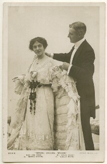 Ada Reeve as Winnie Brooke and Henry Vibart as Dudley Mayne in 'Winnie Brooke, Widow', published by Rotary Photographic Co Ltd - NPG Ax160447