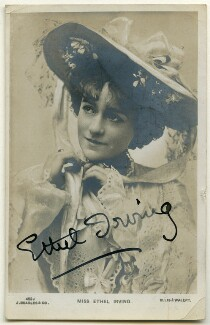 Ethel Irving, by Alfred Ellis & Walery, published by  J. Beagles & Co - NPG Ax160450