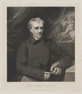 Thomas Stothard, by and published by William Henry Worthington, after  George Henry Harlow - NPG D42058