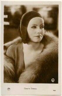 Greta Garbo, by Unknown photographer - NPG Ax160455