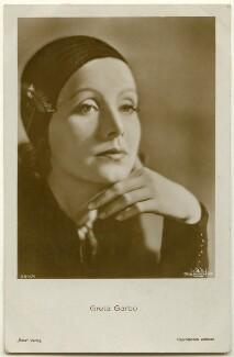 Greta Garbo, published by Ross-Verlag - NPG Ax160456