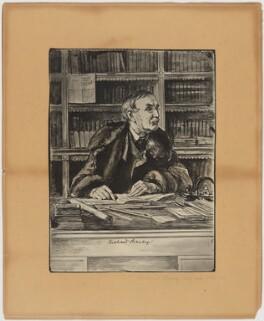 Sir Richard Strachey, after Unknown artist - NPG D42064