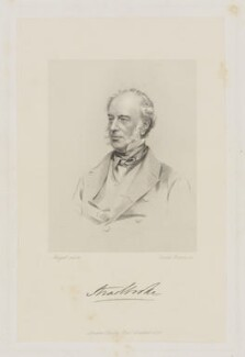 John Edward Cornwallis Rous, 2nd Earl of Stradbroke, by Joseph Brown, published by  Baily Bros, after  John Jabez Edwin Mayall - NPG D42065