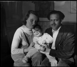 Liselotte de Kristian; Karen Souza; Francis Newton Souza, by Ida Kar - NPG x134942
