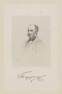 George Stevens Byng, 2nd Earl of Strafford, by Joseph Brown, after  John Jabez Edwin Mayall, mid 19th century - NPG D42076 - © National Portrait Gallery, London
