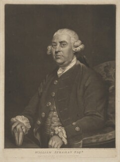 William Strahan, by and published by John Jones, after  Sir Joshua Reynolds - NPG D42078