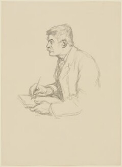 William Strang, by Sir William Rothenstein, 1897 - NPG D42079 - © National Portrait Gallery, London