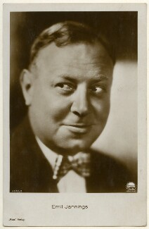 Emil Jannings, published by Ross-Verlag - NPG Ax160465