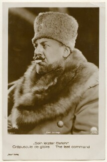 Emil Jannings in 'The Last Command', published by Ross-Verlag - NPG Ax160467