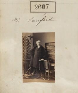 Edward Ayshford Sanford, by Camille Silvy, 19 March 1861 - NPG Ax51996 - © National Portrait Gallery, London