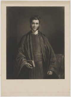 Reverend Stratton, by Thomas Goff Lupton, after  John Linnell - NPG D42087